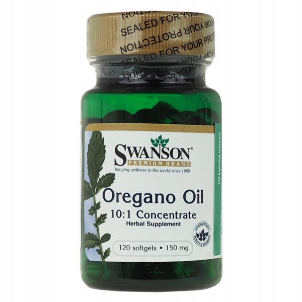 Swanson Oregano Oil 10:1 Concentrate - 120 kaps.