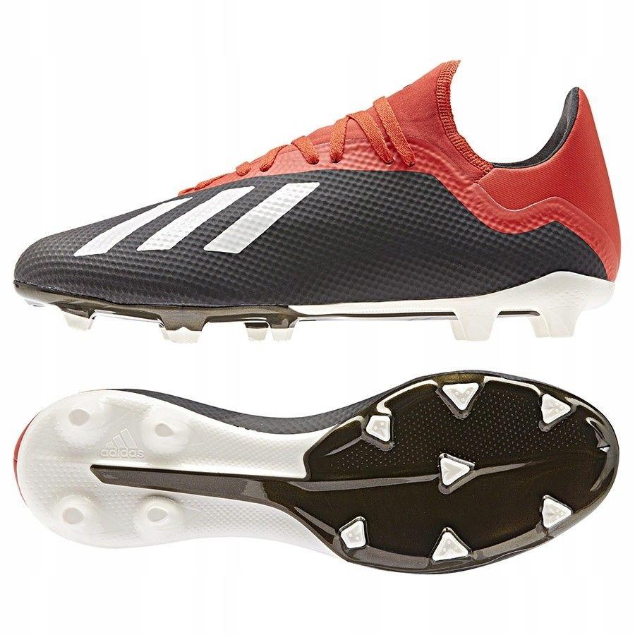 Buty piłkarskie korki lanki adidas X 18.3 FG 46
