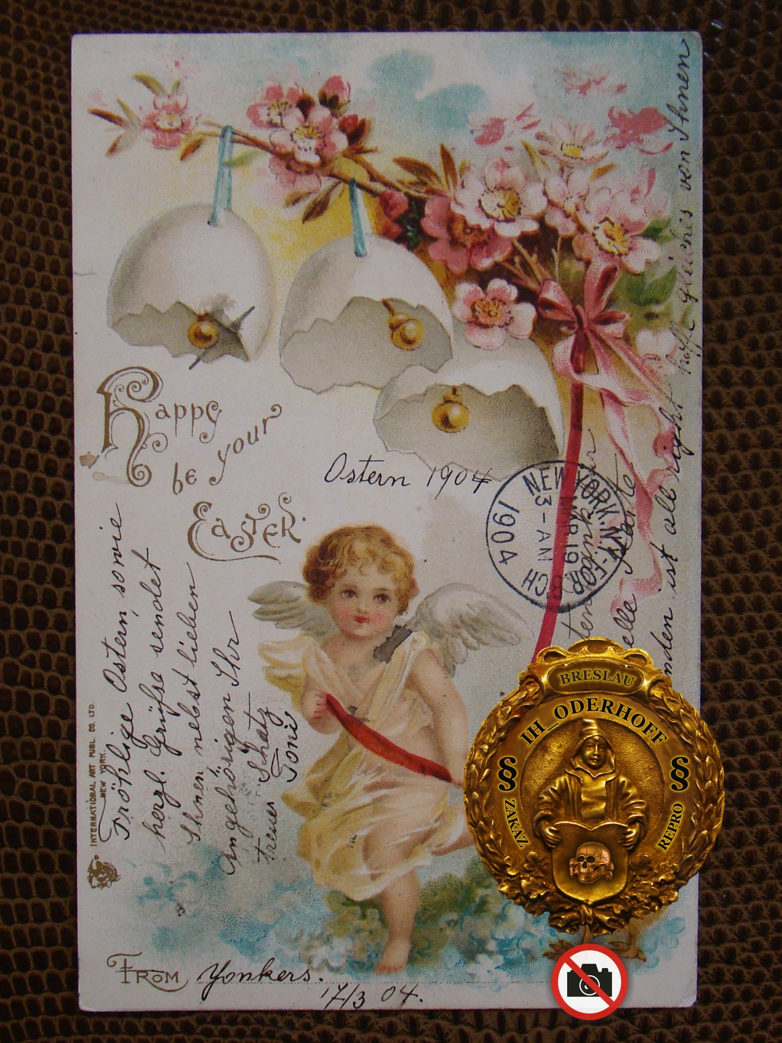 USA N.Y.=Ostern 1904 Litho,Lux C4766