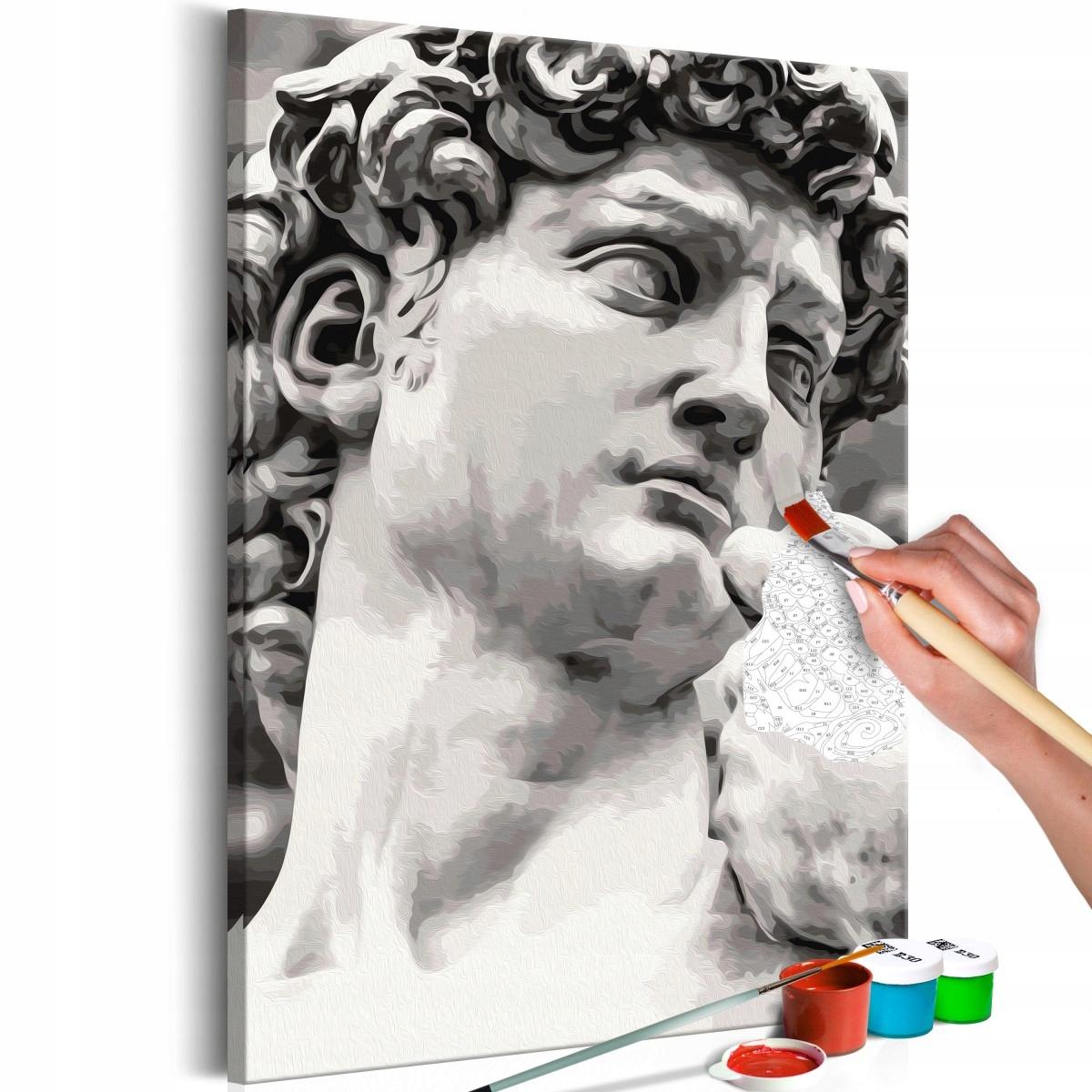 Obraz do samodzielnego malowania - Rzeźba (Rozmiar