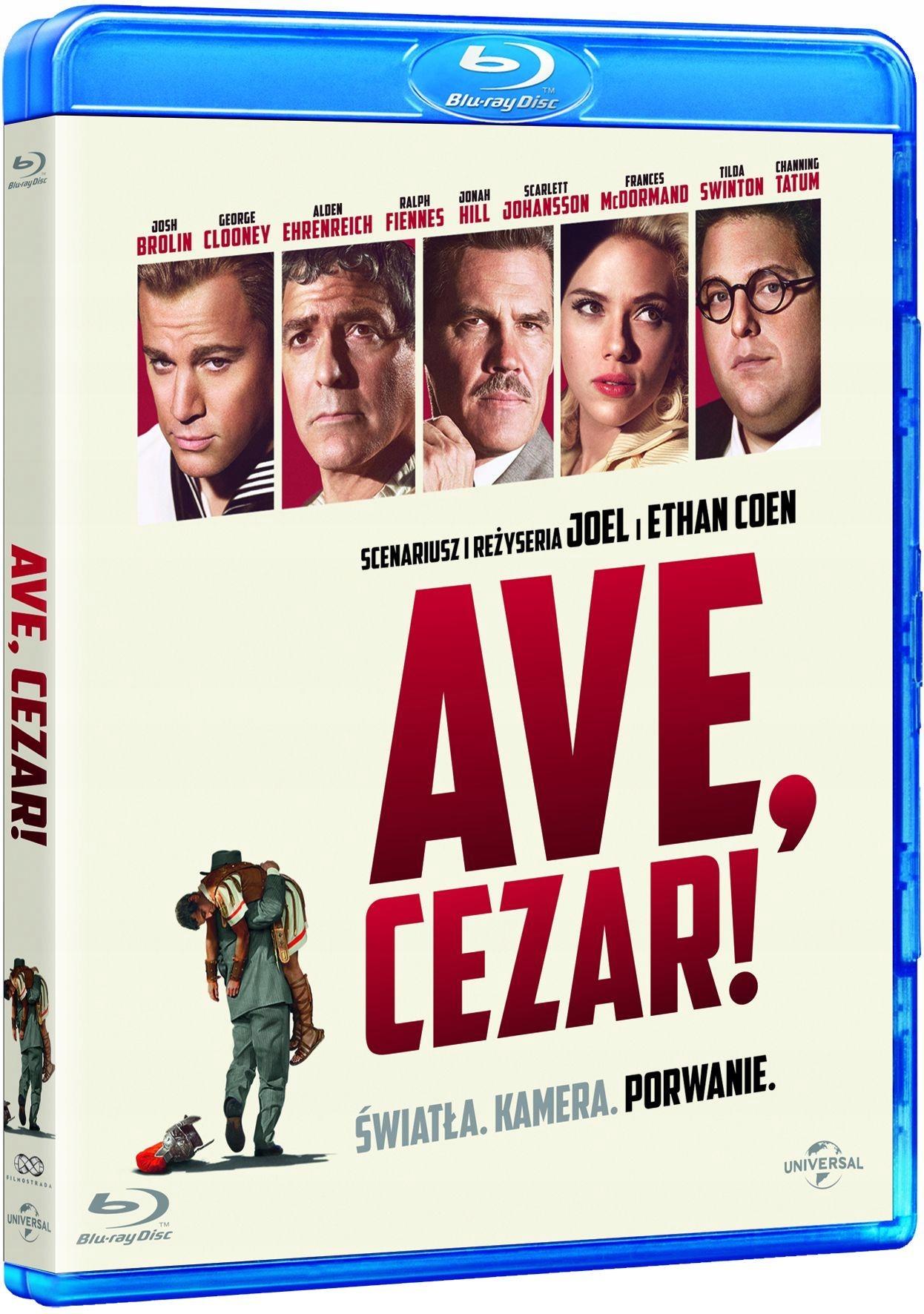Ave Cezar! DVD BLUE RAY