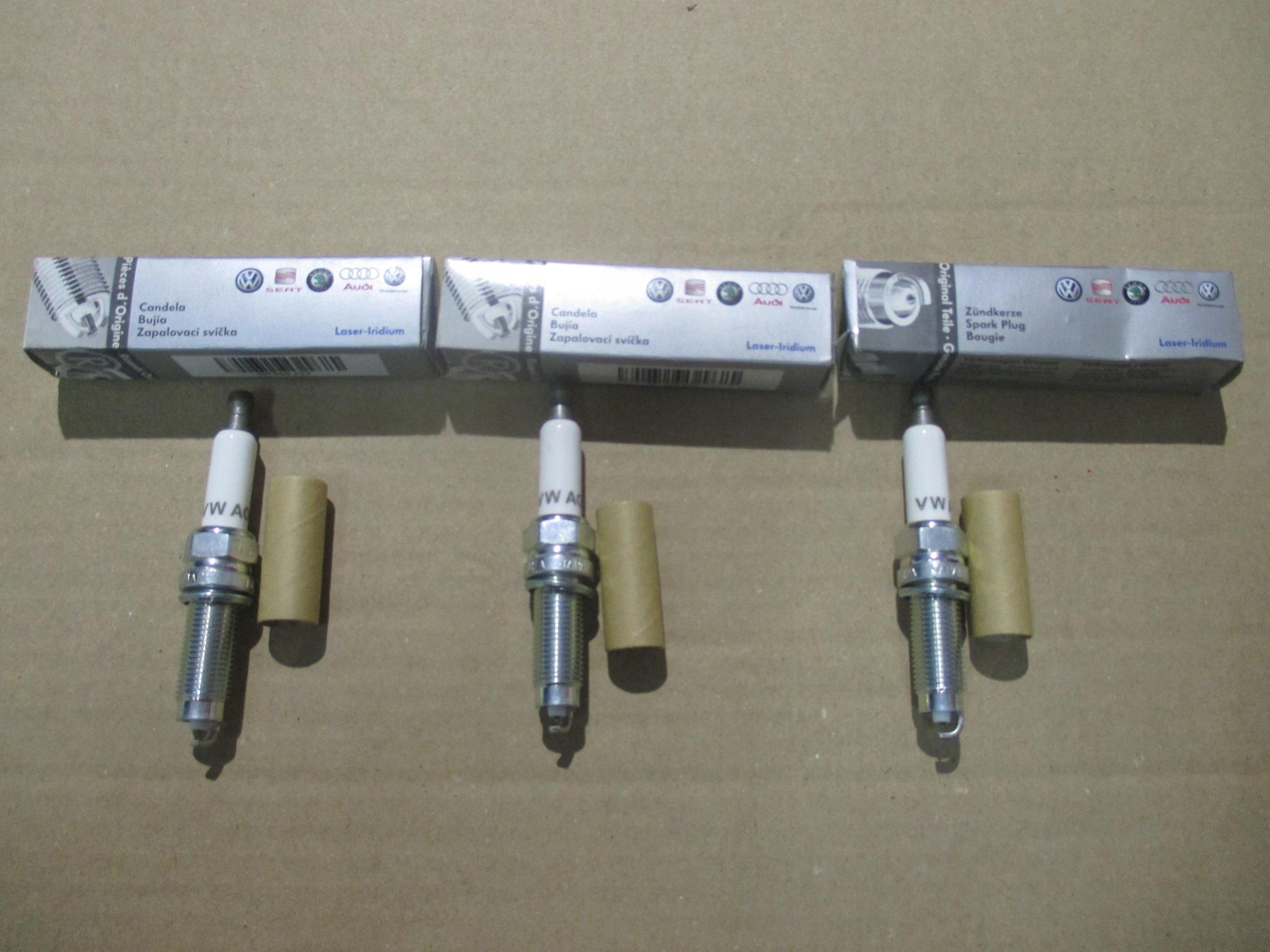 6 X CANDELE NGK BKUR 6et-10 V-LINE 24-3045 AUDI SEAT SKODA VW