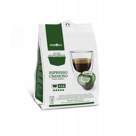 GIMOKA kapsułki Espresso DOLCE GUSTO PURO 16 KAPS