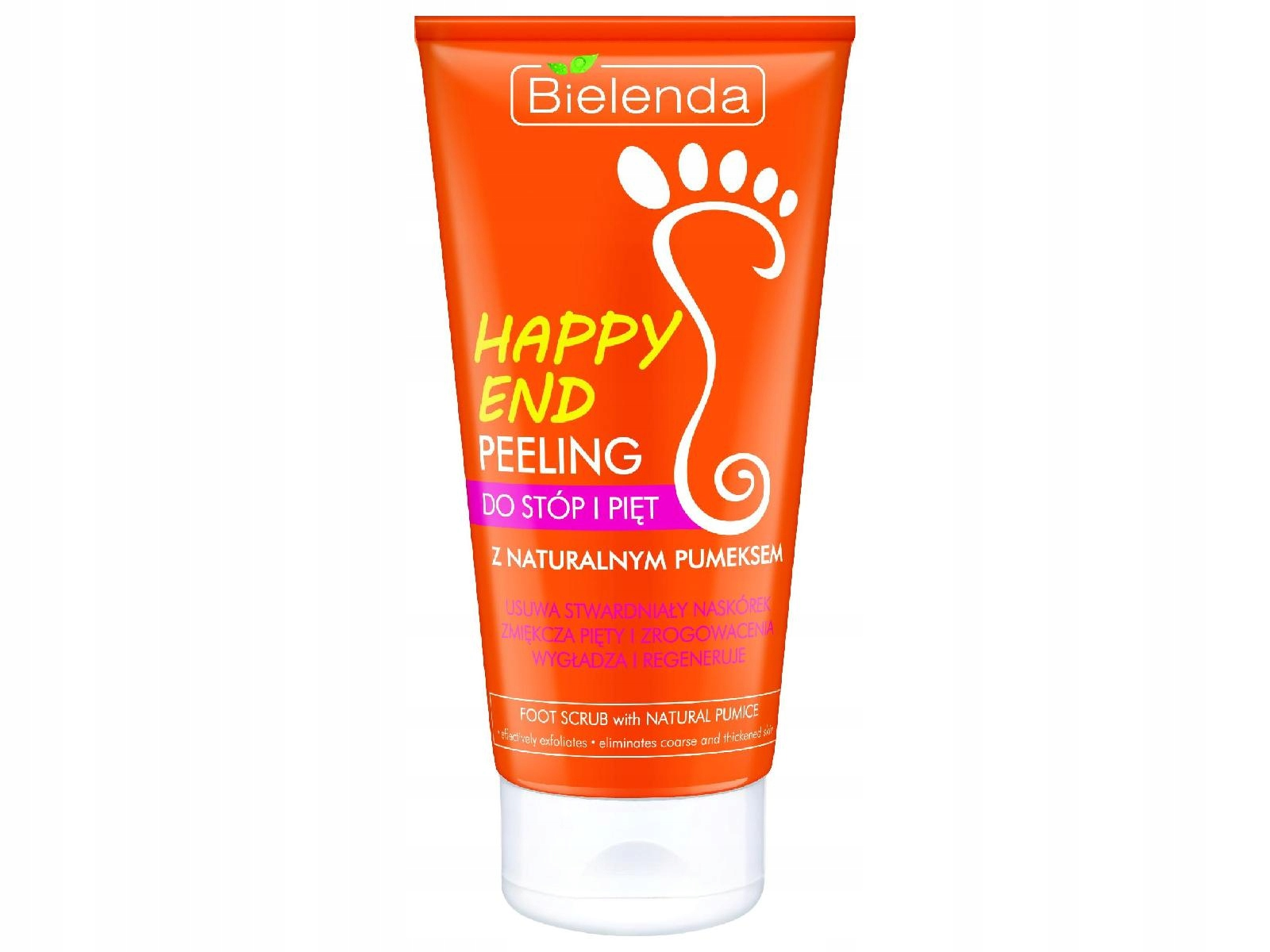 Bielenda Happy End Peeling do pięt i stóp z 125ml