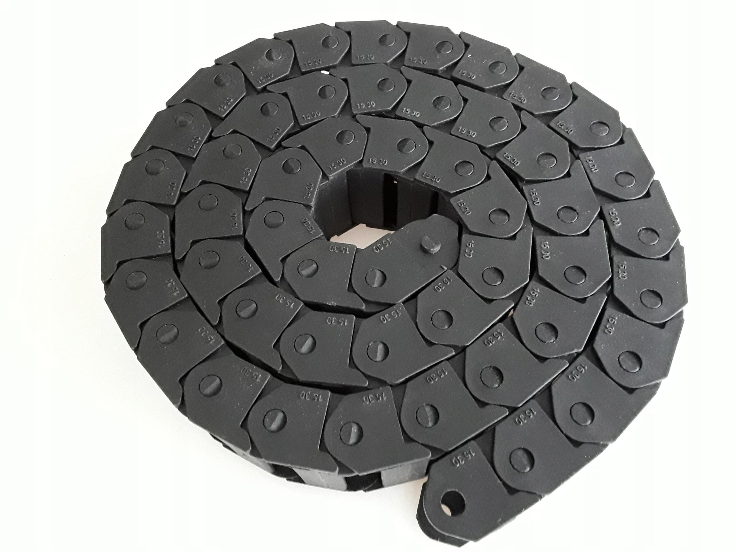 Prowadnik kabli prowadnice przewodów CNC 15x30mm