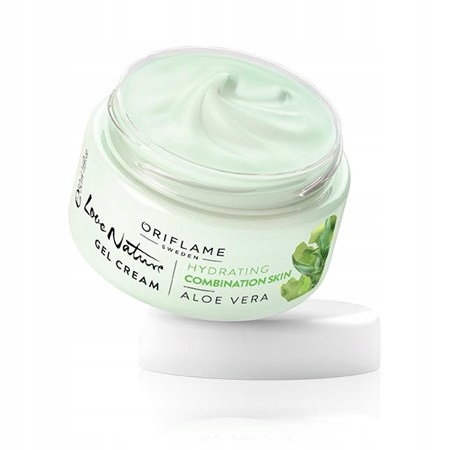 ORIFLAME Krem-żel z aloesem do twarzy Love nature