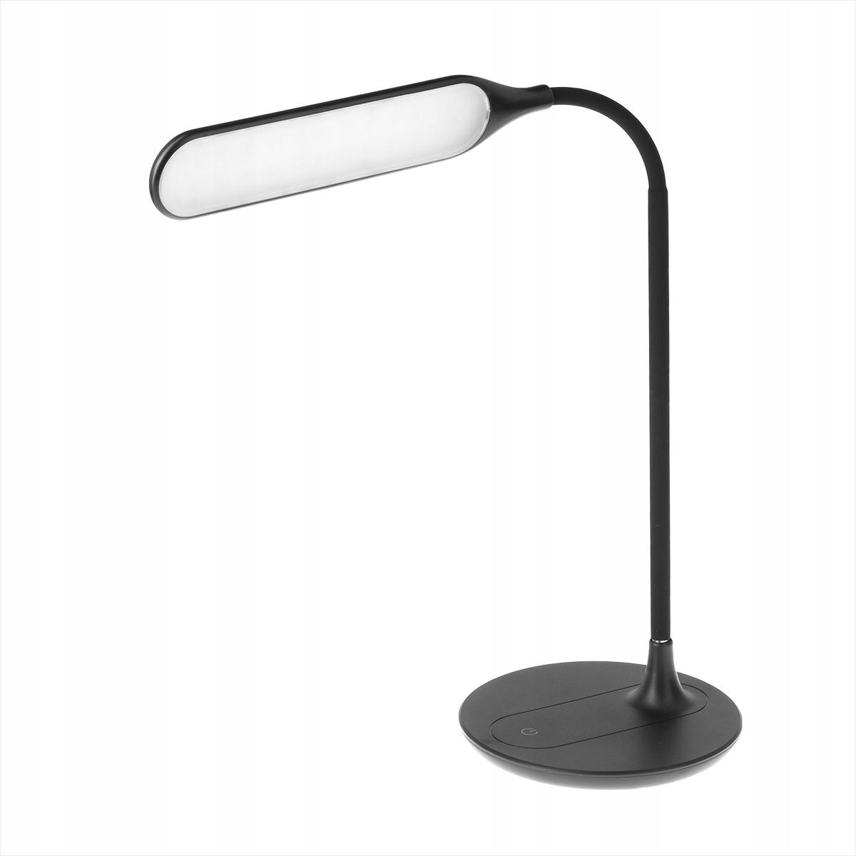LAMPA LED NA BIURKO MANICURE 6W CZARNA GIĘTKA DS51