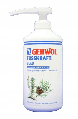 Gehwol Fusskraft Blau 500 ml