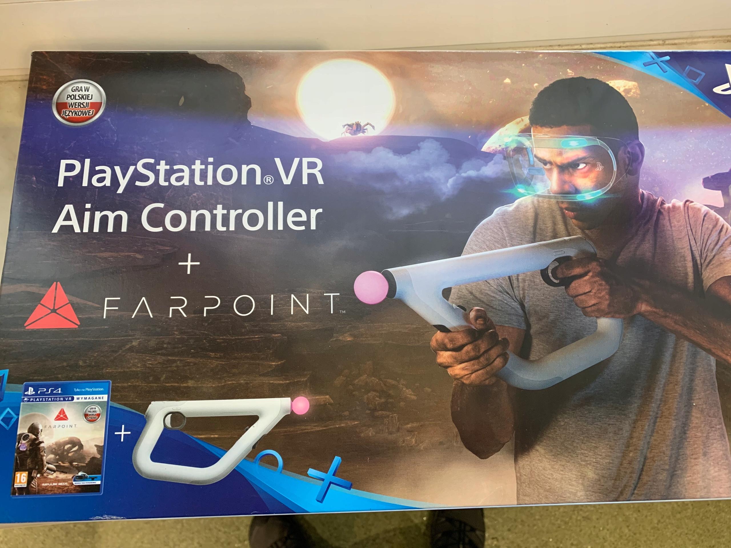 Farpoint + Aim Controller do PS4 VR -339 zł