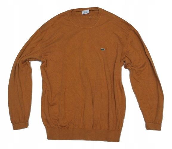 U Modny Sweter Bluza Lacoste XXL bawełna z USA!!