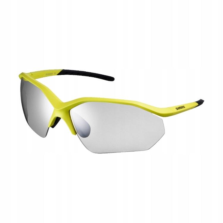 Okulary sportowe Shimano EQNX3 mat lime