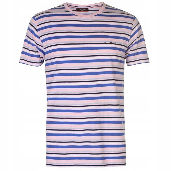 T-Shirt koszulka Pierre Cardin męski M niebieska