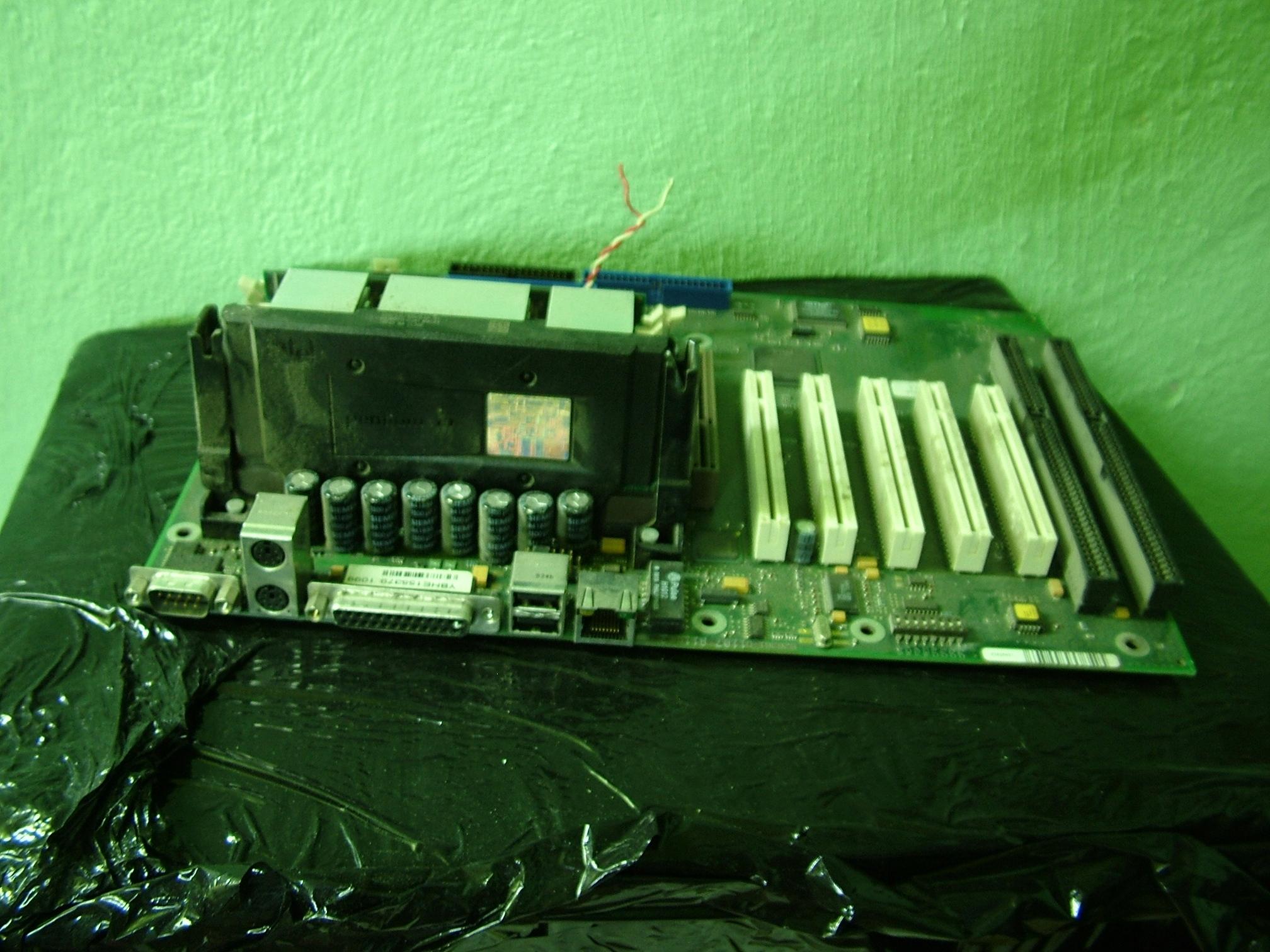 Płyta gł z Procesorem Pentium 3 500Mhz RAM RETRO