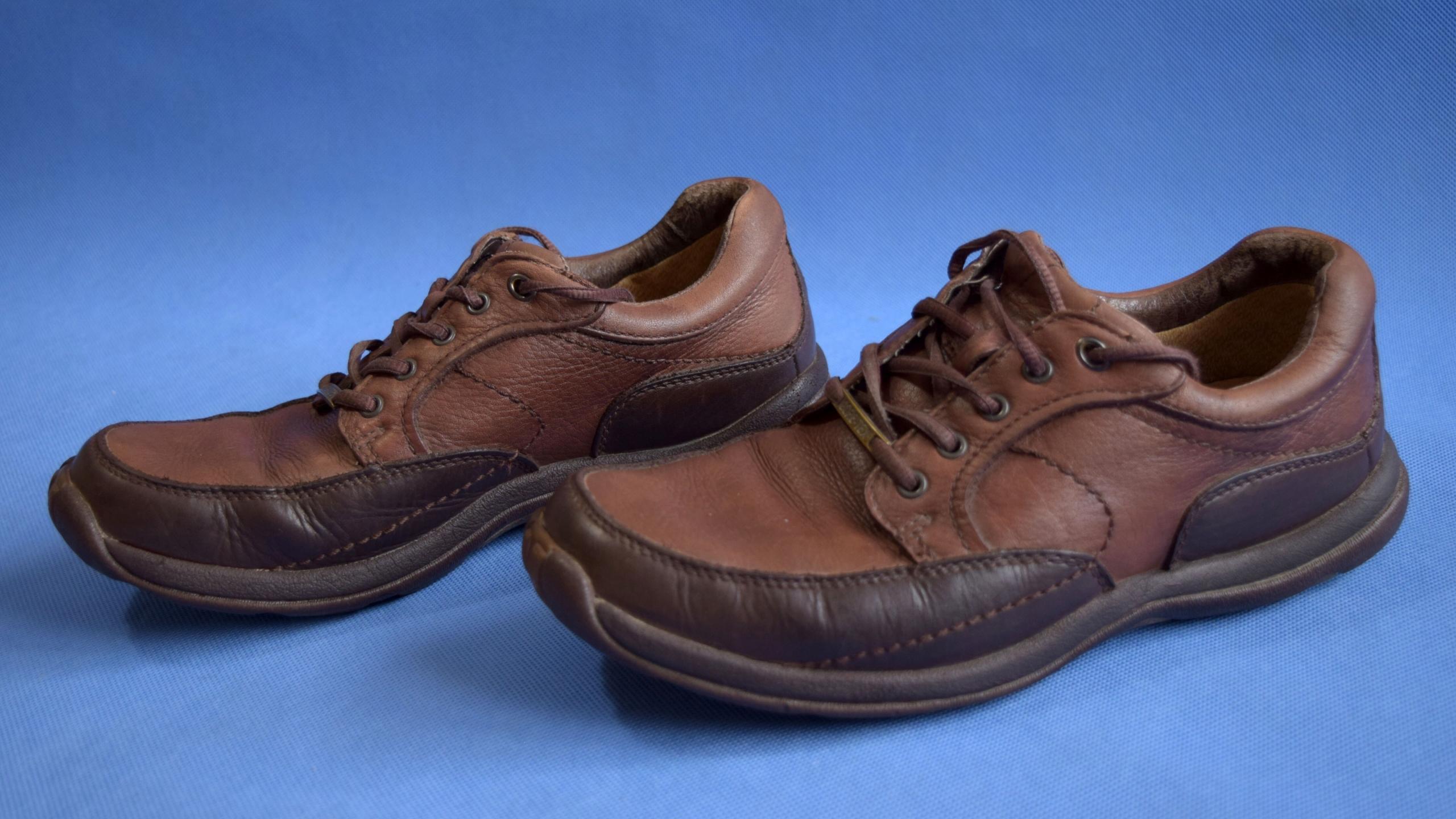 Clarks gore-tex buty skóra męskie 41,5