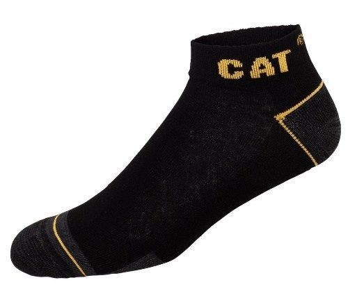 Skarpetki stopki CAT 43/46 bawełna 83% czarne