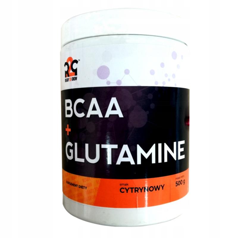 R2G BCAA + Glutamina 500g szybka regeneracja cytry
