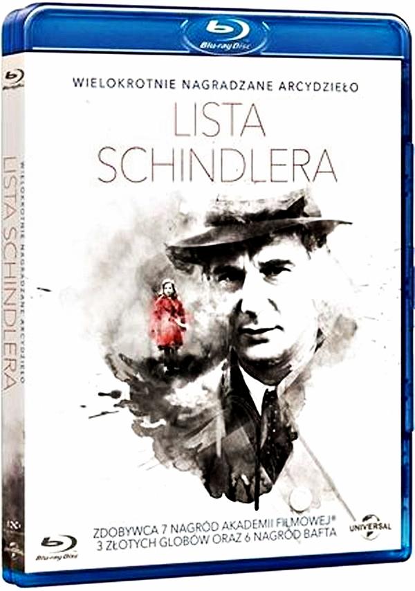 LISTA SCHINDLERA BLURAY+DVD FOLIA !