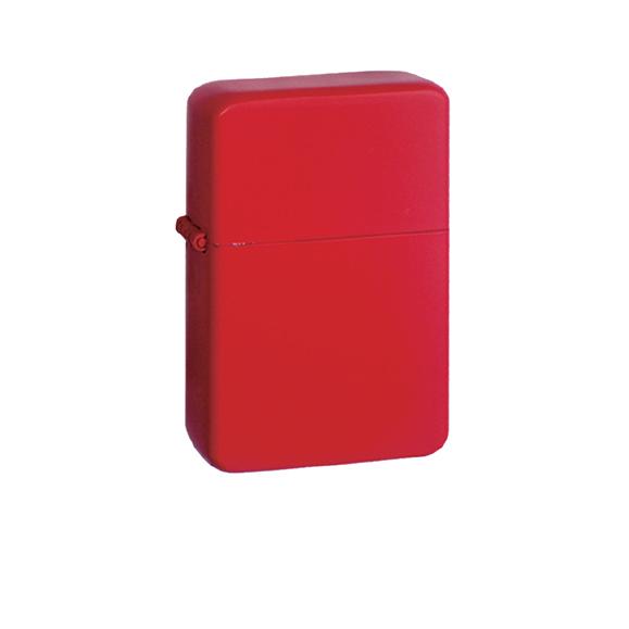 Zapalniczka Red Matt + benzyna ZIPPO + Grawer