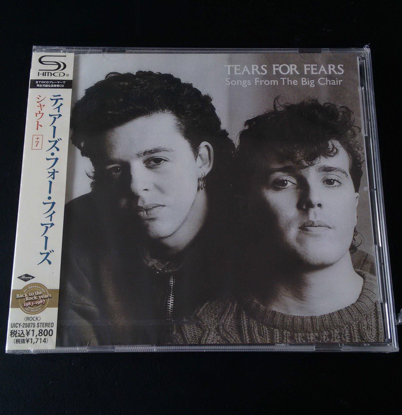 TEARS FOR FEARS Songs From Big SHM-CD JAPAN odRękI