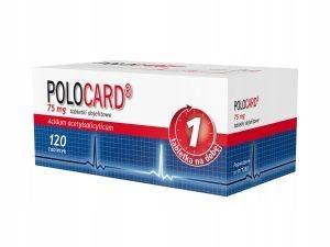 POLOCARD 75 mg, 120 tabletek