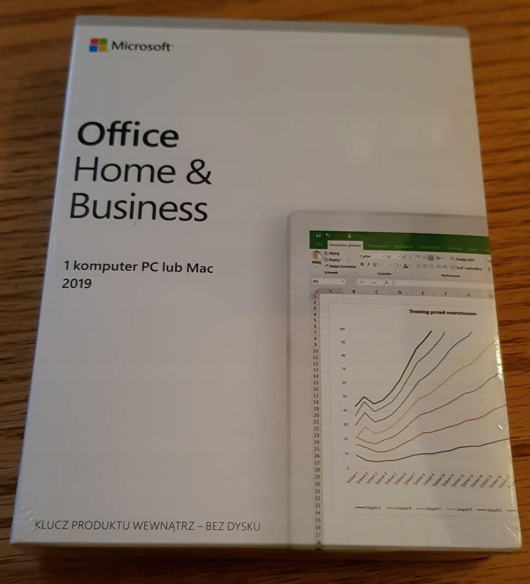 Microsoft Office Home & Business PL