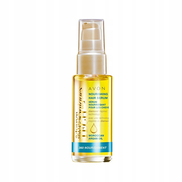 *AVON* Serum do włosów odżywcze z olejkiem arganow