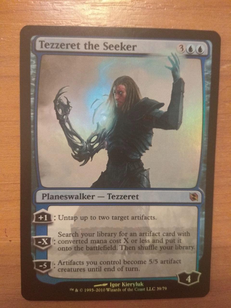 MTG Tezzeret the Seeker