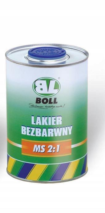 Lakier akrylowy bez utwardzacza BOLL bezbarwny 0.5