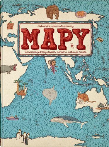 Dwie Siostry Mapy książka dla dzieci album