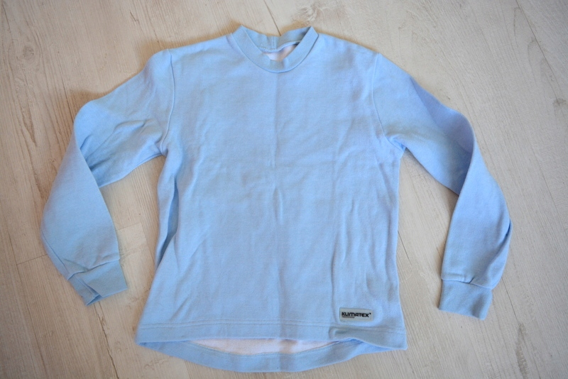 Klimatex sweter bluza 134