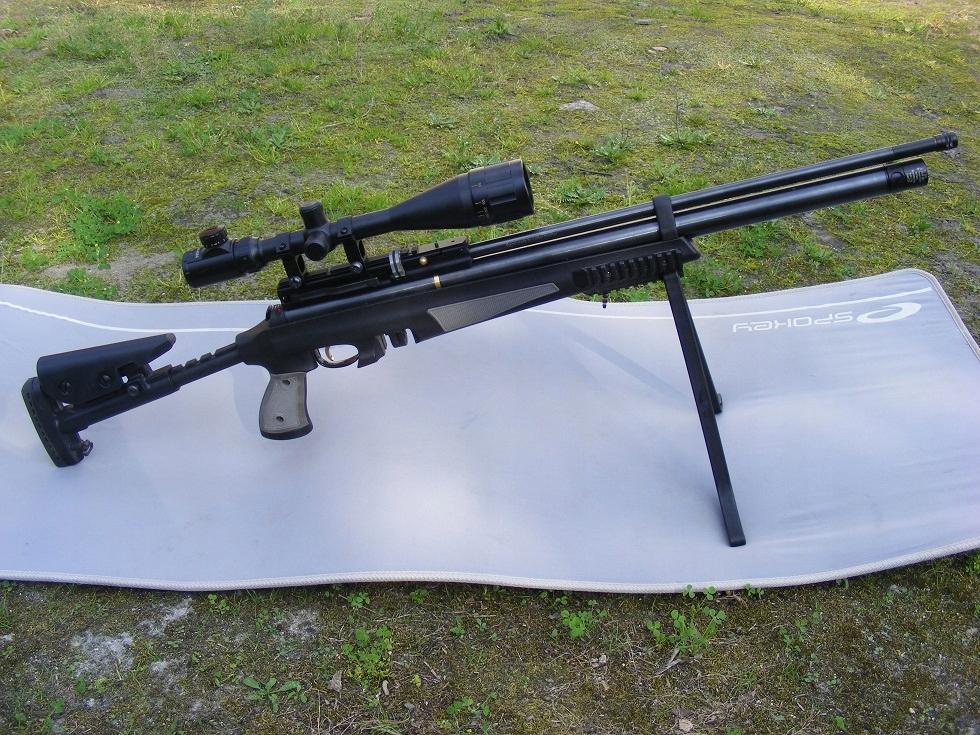 Hatsan AT44 Tact. Long PCP lufa Lothar&Walther