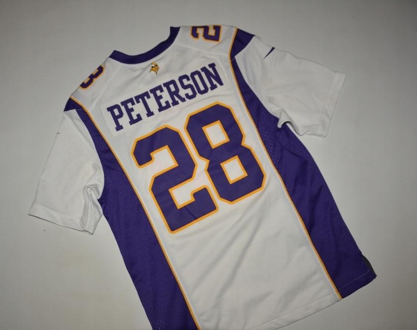 NFL MINESOTA VIKINGS 28 PETERSON NIKE S ORYG.