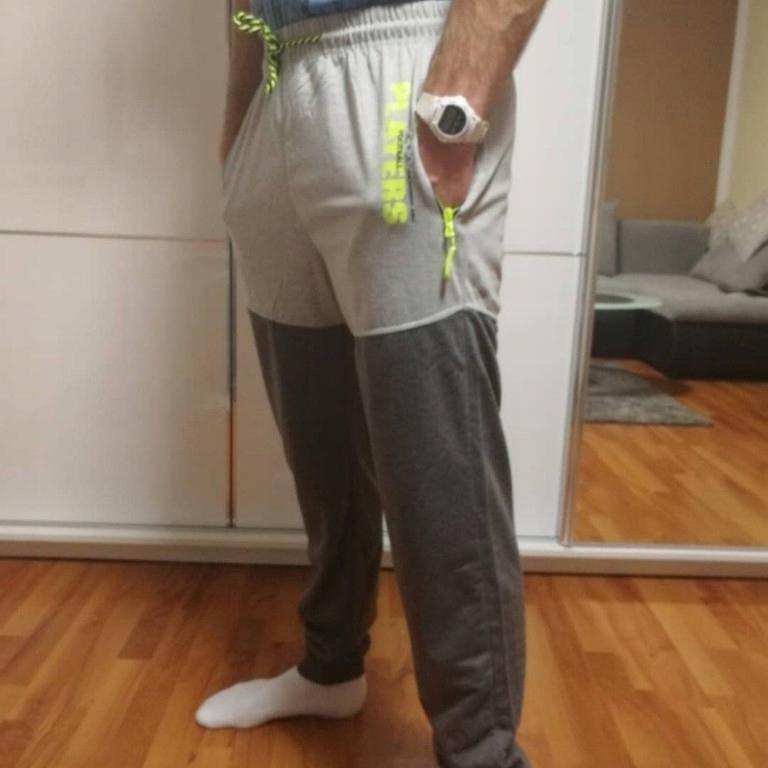Spodnie dresowe neon