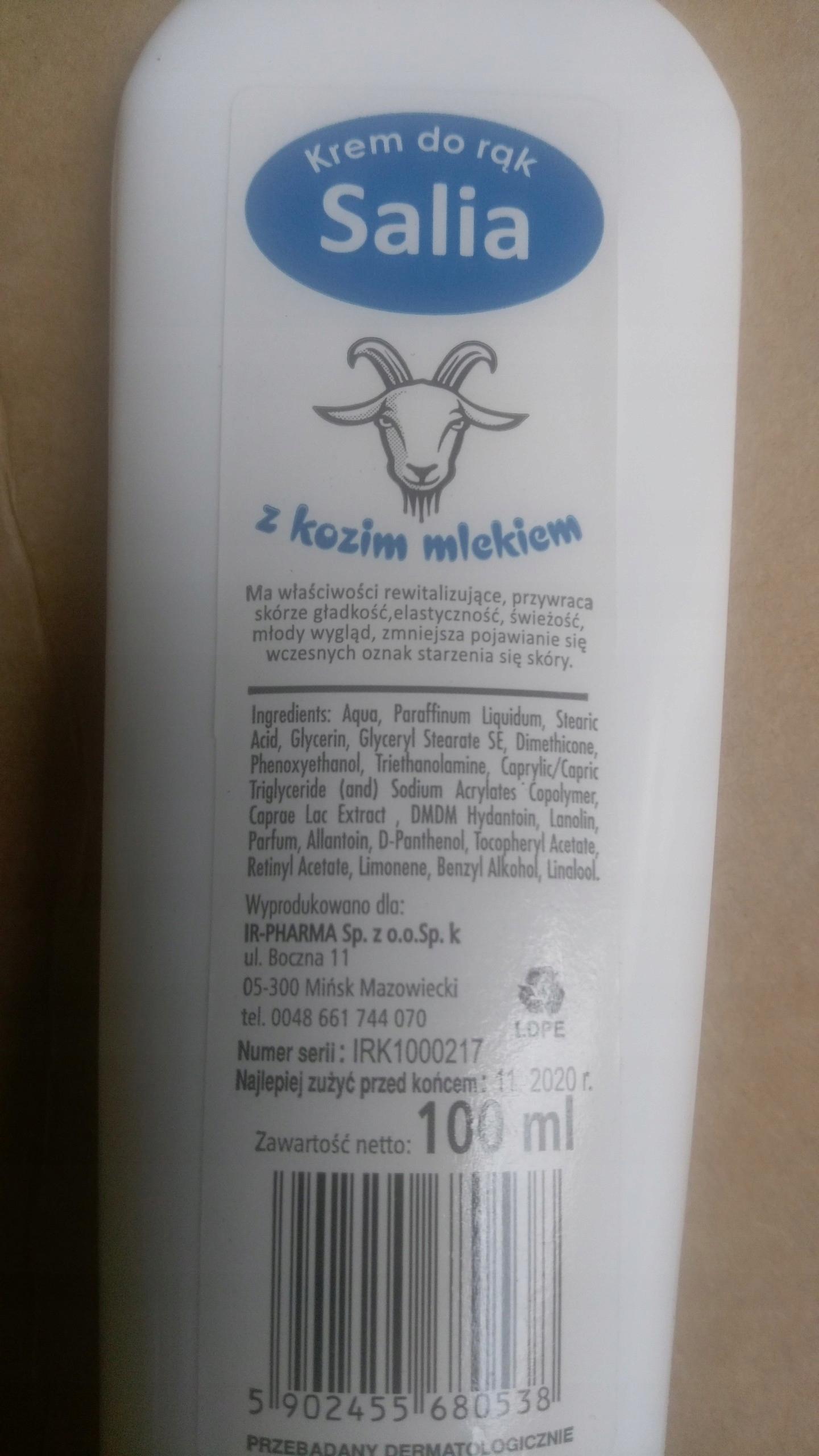 2kg Krem Nawilżający Kozie Mleko Pantenol Hypo Ae