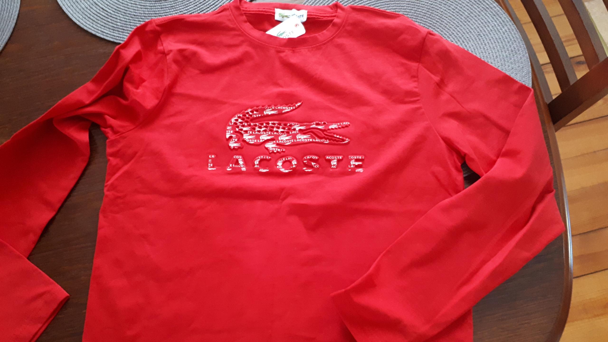 LONGSLEEVE LACOSTE ROZMIAR L L1212T03 T8