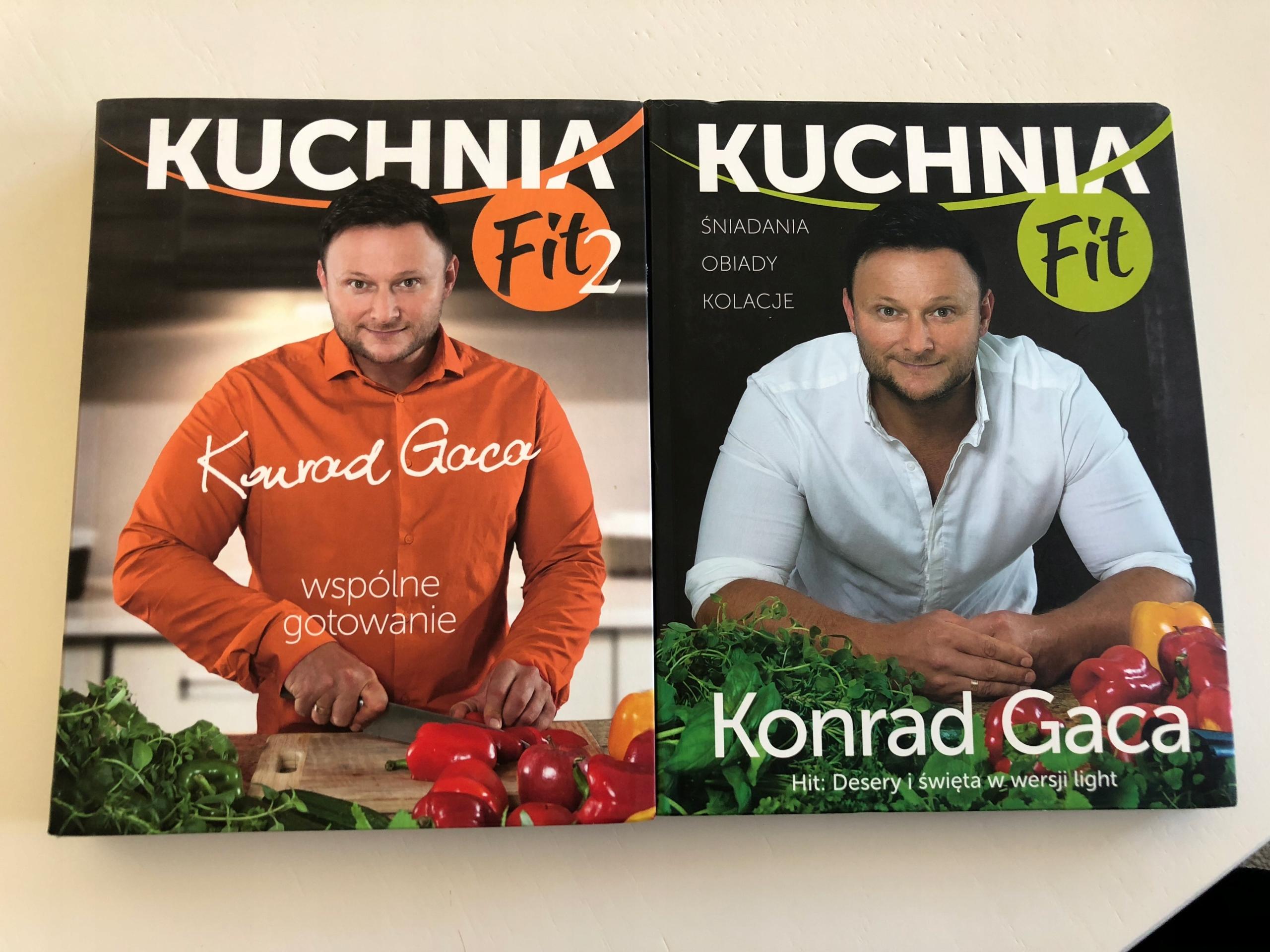 Konrad Gaca Kuchnia Fit Kuchnia Fit 2 7644540447 Oficjalne