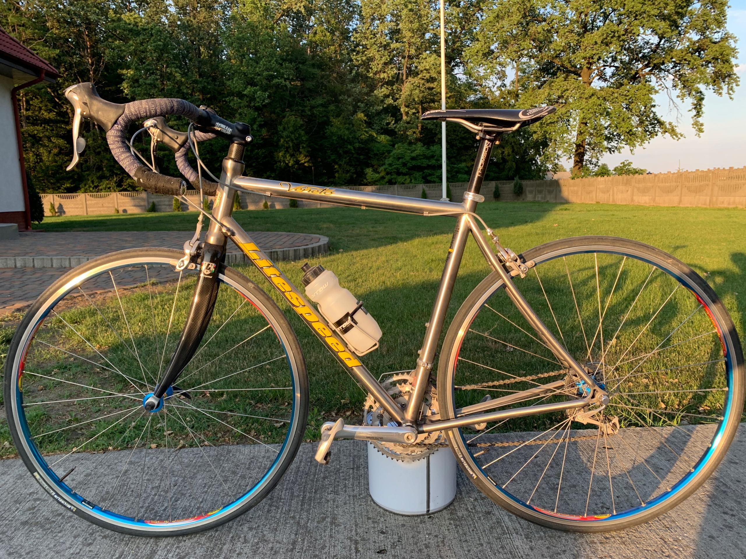 Rower kolarzówka litespeed tytan