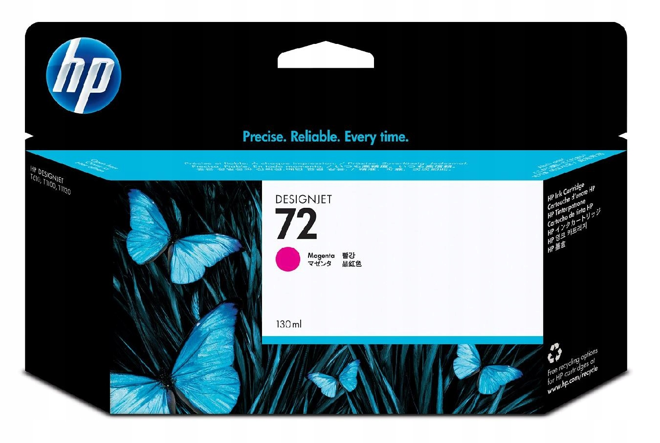 Tusz Nr 72 Purpurowy (Magenta) Fotograficzny 130ml