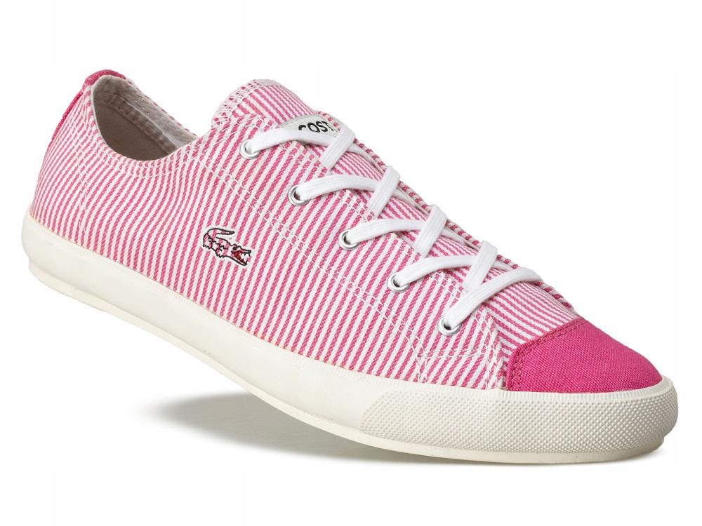 Trampki wygodne buty sportowe Damskie LACOSTE 40