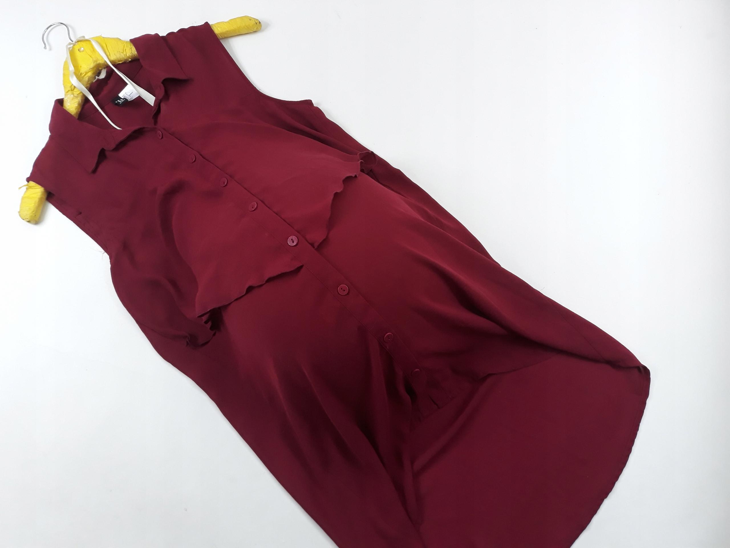 DIVIDED H&M * 36 * Tunika ciążowa na guziki *