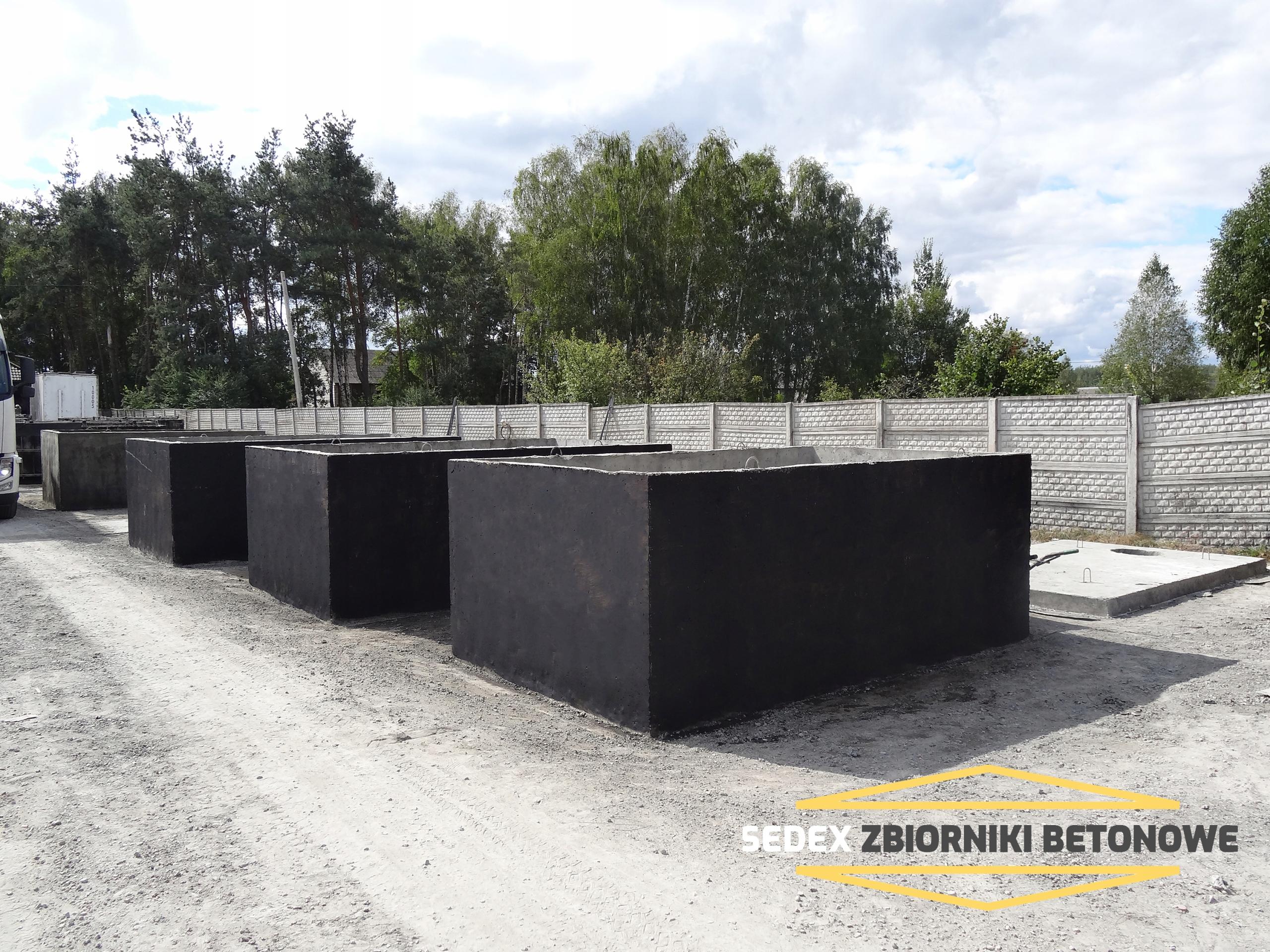 Zbiornik betonowy-SZAMBO 10m3
