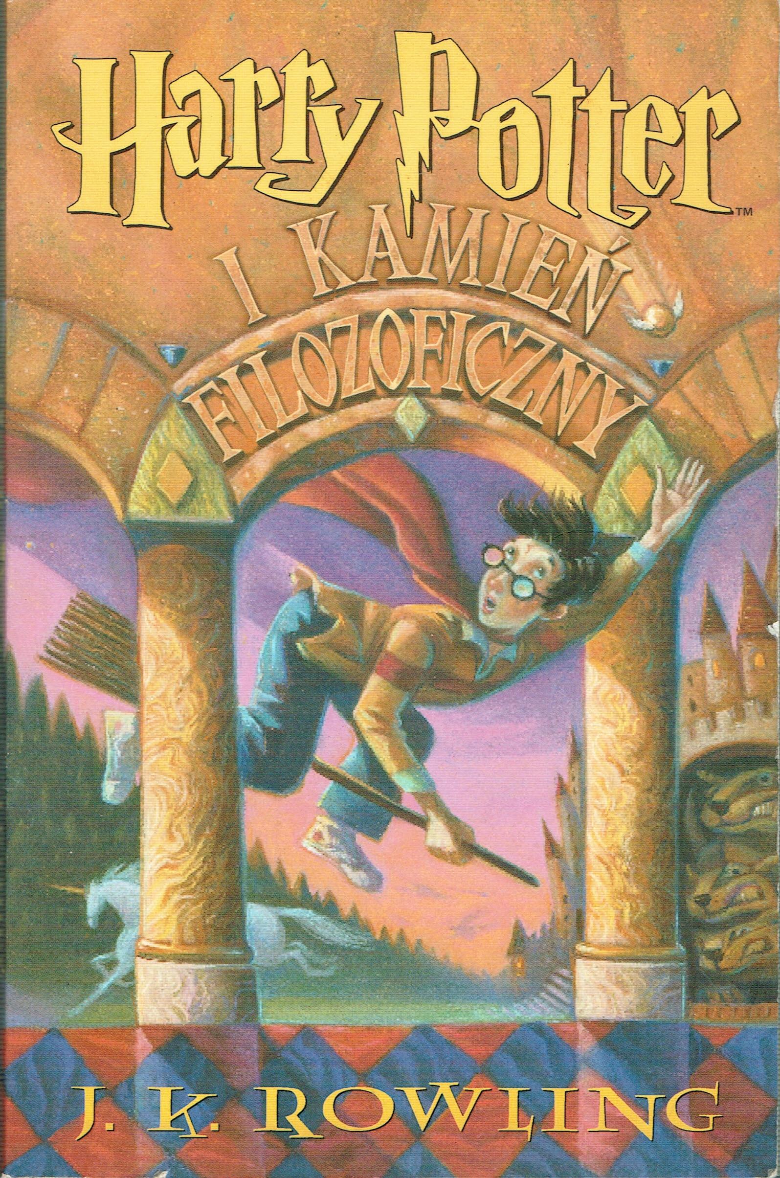 Harry Potter i kamień filozoficzny Rowling