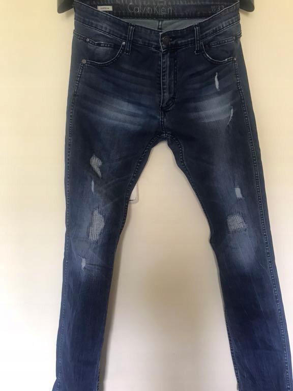 Spodnie jeans Calvin Klein rozmiar 33