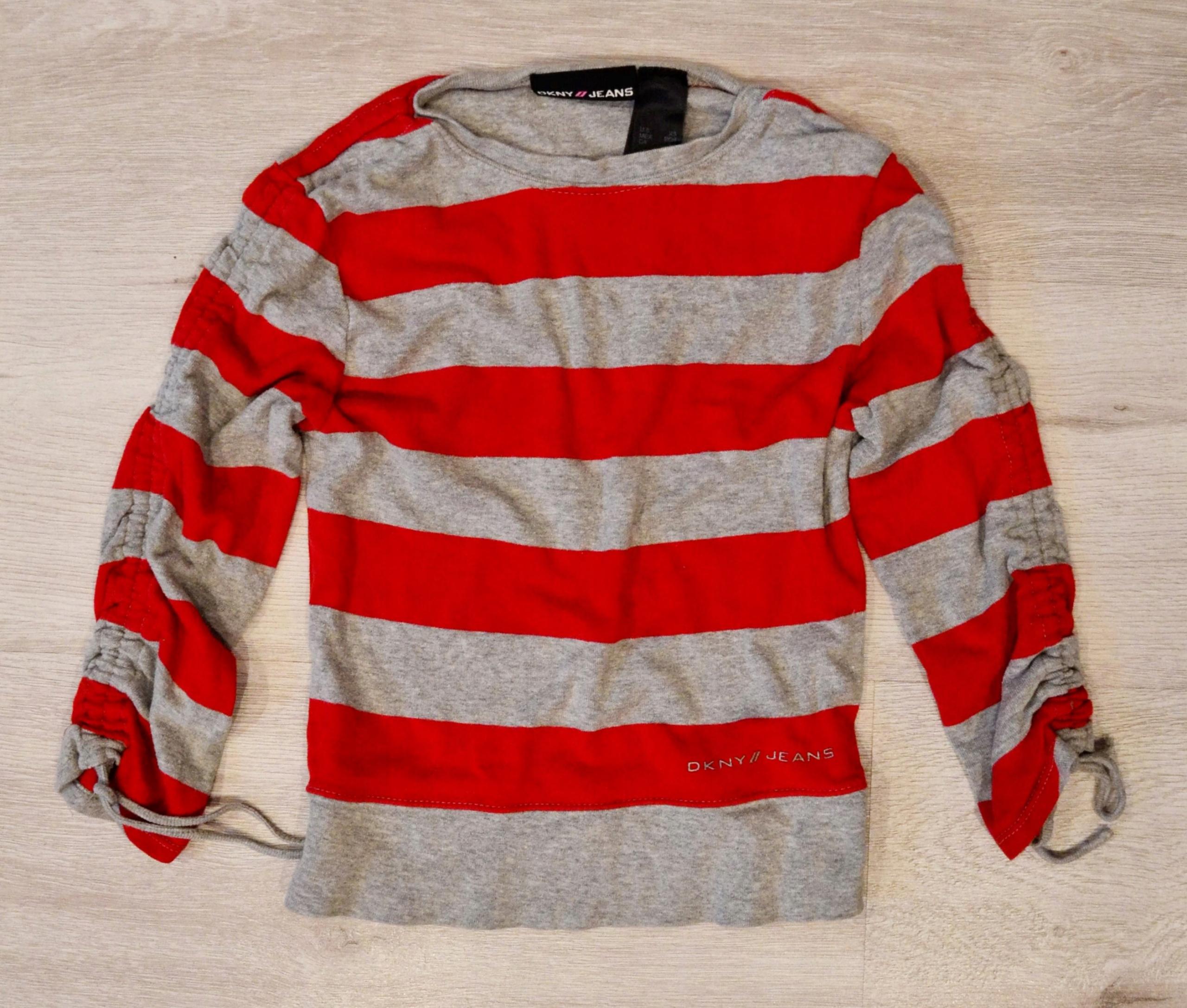 Ładna bluzeczka DKNY Jeans 122cm 5/6 lat