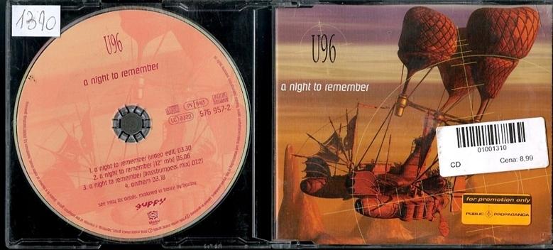 U96 - A NIGHT TO REMEMBER CD1310