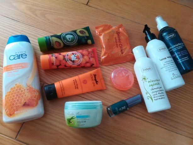 Zestaw kosmetyków Avon Dauglas Oriflame Ziaja