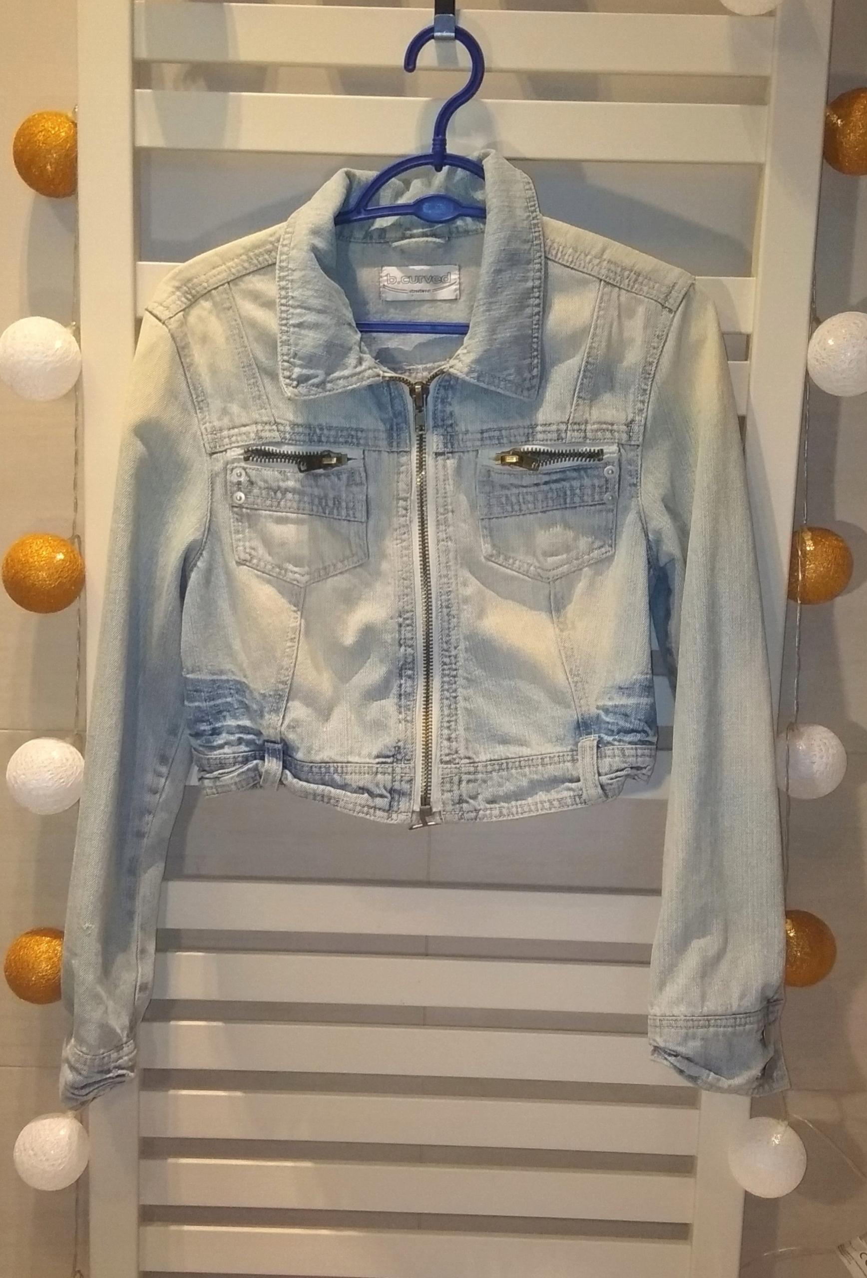 KURTKA jasny jeans 38
