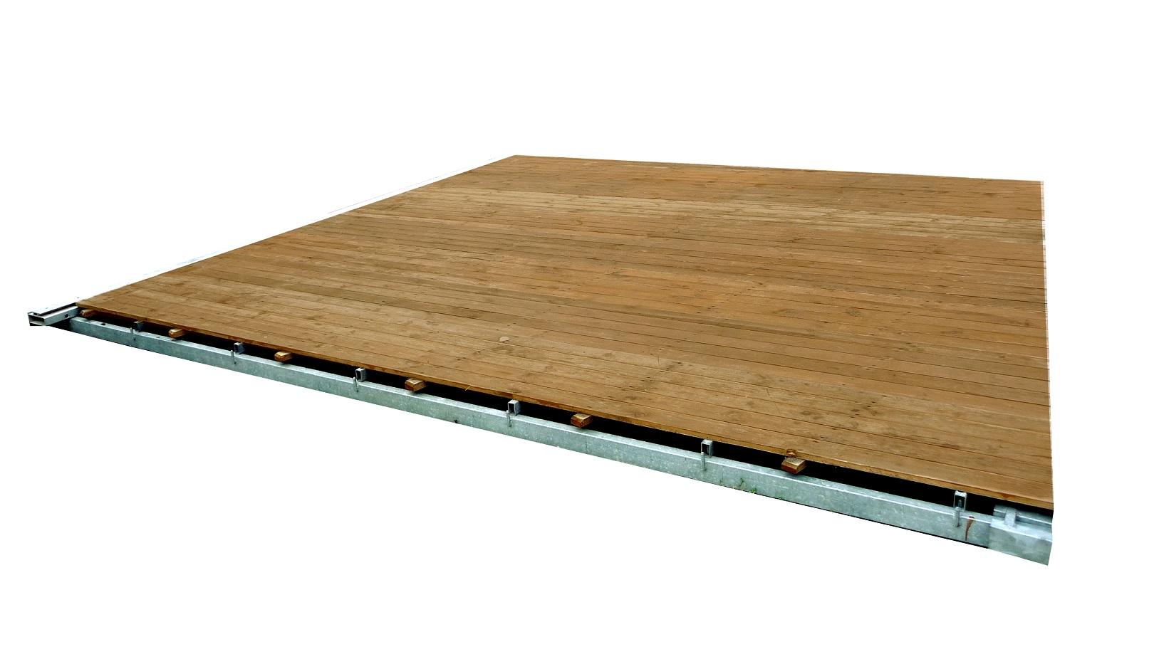 PODŁOGA drewniana NAMIOTOWA do namiotu NA STELAŻU