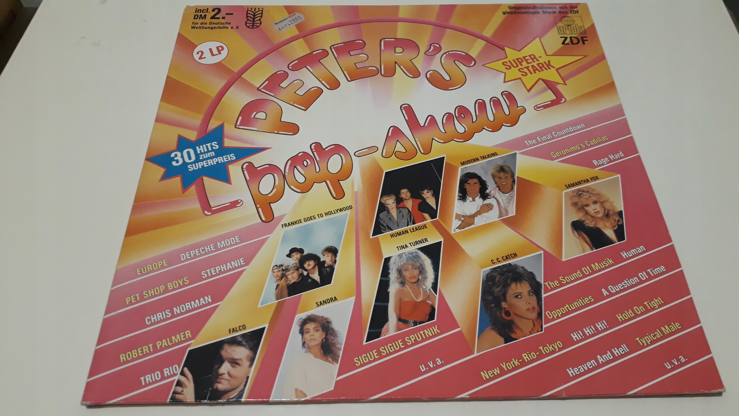 PETER POP SHOW - 2LP 1695