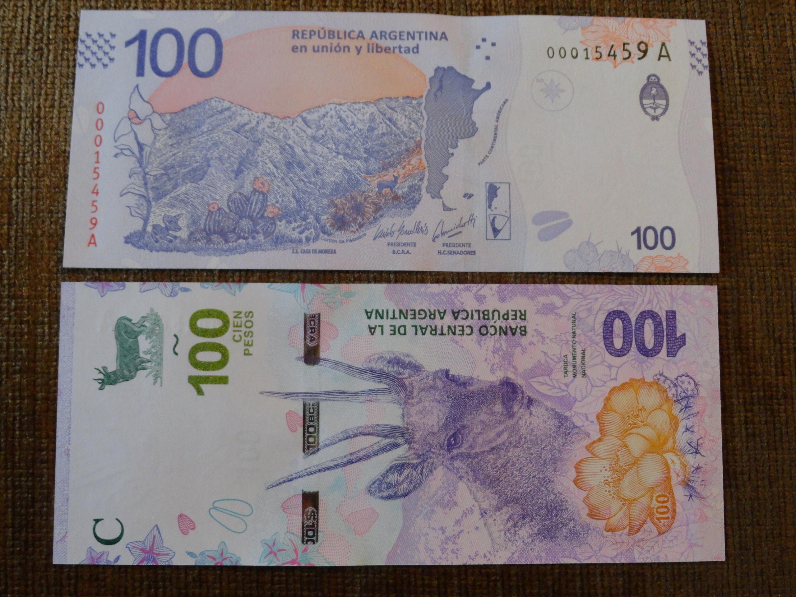 304.ARGENTYNA 100 PESO UNC